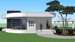 bauhaus home bauhaus modern home 2 3d warehouse