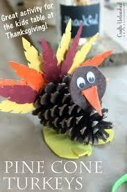 25 pretty pinecone crafts for preschoolers pinecone turkey