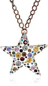 stone colored necklace images Betsey johnson confetti mixed multi colored stone jpg
