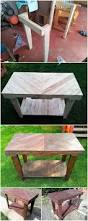 Pallet Console Table Diy Chevron Pallet Console Table Step By Step Tutorial Pallet