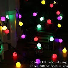 solar panel christmas lights solar globe 50 led ball string lights solar powered christmas light