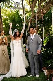 hawaiian themed wedding dresses bohemian hawaiian wedding ruffled