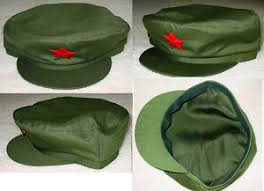 Chinese Halloween Costume China Chinese Pla Soldier Red Army Green Cap Mao Hat Halloween