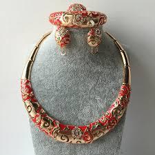 wedding jewellery sets gold dubai gold colour jewelry sets wedding