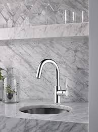 Brizo Solna Kitchen Faucet Single Handle Pull Prep Faucet 63920lf Pc Solna