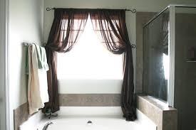 bathroom window curtain ideas tips ideas for choosing bathroom window curtains with photos inside