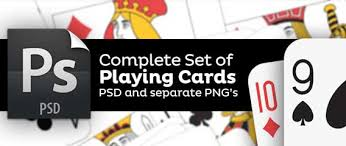Playing Card Design Template Playing Cards Complete Set Of Png And Psd Template