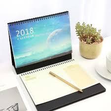 calendrier de bureau photo 2018 planète bleue table calendriers creative décoration