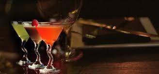 martinis luxe menu