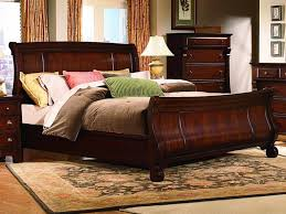 bedroom furniture ideas bedroom gorgeous king sleigh bed with beautiful colors for