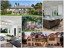 4 of 5 largest homes for sale in san mateo county are located in