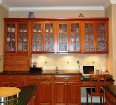 Stained Glass Kitchen Cabinet Doors by Stained Glass Kitchen Cabinet Doors Cabinet Glass Inserts And