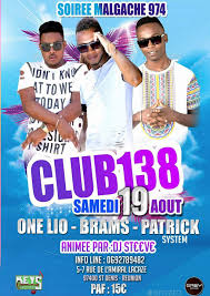 brams one lio patrick en show case club 138 la réunion