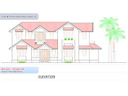 home plan and elevation 2388 sq ft kerala house design idea