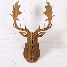 Diy Deer Christmas Decorations by Online Get Cheap Diy Christmas Wooden Reindeer Aliexpress Com