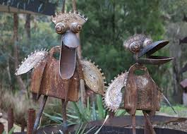 the junk map imaginative recycled metal sculptures and practical