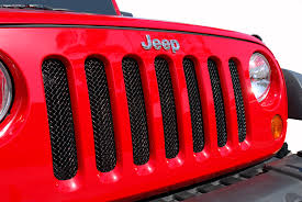 jeep wrangler front grill metalcrafters