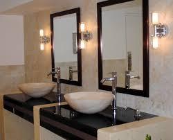handicap tilt mirror standoff bathroom mirrors restroom for white