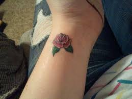 new small pink rose tattoos designs ideas for guys