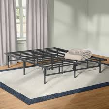 Assembling A Bed Frame Alwyn Home Easy To Assemble Smartbase Bed Frame Reviews Wayfair