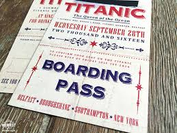 wedding invitations belfast titanic ticket wedding invites http www wedfest co titanic