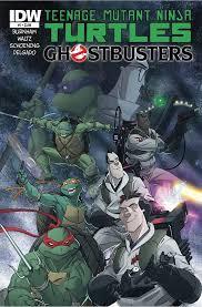 teenage mutant ninja turtles team ghostbusters