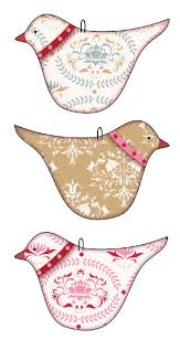 bird ornaments 4 3 x 7 cm with the adhesive on the back and small