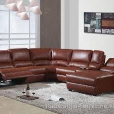Brown Leather Sectional Sofa by Furniture Furniture Modern Living Room Ideas With Leather