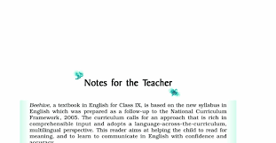 download ncert book class 9 english beehive chapters pdf docdroid