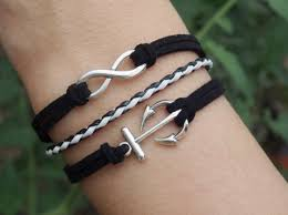 fashion infinity bracelet images Jewels infinity anchor infinity bracelet anchor bracelet jpg