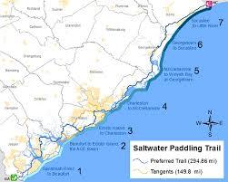 south carolina beaches map scdnr southeast coast saltwater paddling trail