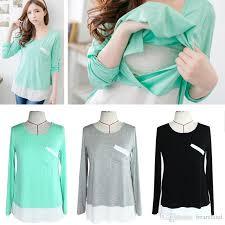 nursing tops 2018 nursing tops maternity shirt clothes for