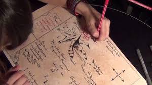 The Hobbit Map The Hobbit Making Thorin U0027s Map And Bilbo U0027s Portrait Youtube