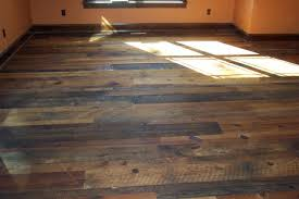 distressed reclaimed tobacco barn flooring with finish