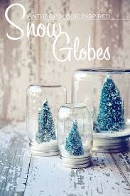 snow decoration 25 diy gift ideas for 10 diy snow globe small trees and globe