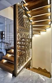 garde corps bois escalier interieur éclairage escalier led 30 idées modernes et originales