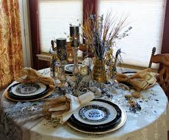 New Year Decorations For Table by New Year U0027s Eve Decoration For Your Chic Party 33 Examples U2013 Fresh