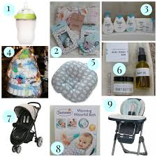 stilettos and diaper bags baby shower gift guide giveaway