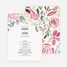 wedding programs with pictures wedding programs paper culture