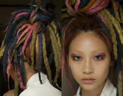 hairstyles with wool nyfw marc jacobs dreads hairstyles 2017 spring hairdrome com