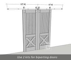 Exterior Sliding Barn Door Kit Vanity Outstanding Exterior Sliding Barn Door Hardware Kits 90 For