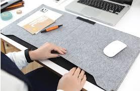 bureau mat 2016 felt sleeve laptop desk mat fashion durable modern table