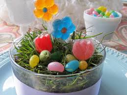 easter table favors easter out loud