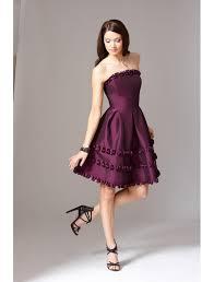 purple cocktail dress dressed up