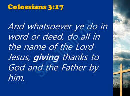 0514 colossians 317 giving thanks to god powerpoint church sermon