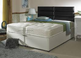 King Size Bed Hotel Hotel Contract Pocket 1000 6ft Super King Size Zip And Link Divan Bed