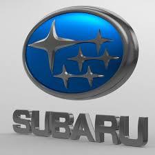 subaru emblem drawing subaru logo 3d cgtrader