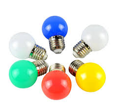 china supplier mini led color bulb 5w led decorative filament