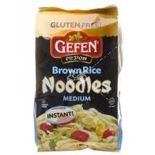 gefen noodles gefen brown rice noodles medium 6 oz