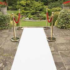 eliza white wedding aisle vip event carpet runner at carpet runners uk